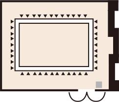 ロの字形式