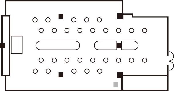 ブッフェ形式(立食スタイル)